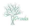 Green Tree Woman. Template logo