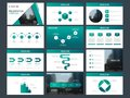 Green triangle Bundle infographic elements presentation template. business annual report, brochure, leaflet, advertising flyer,