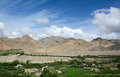 Green valley at Jammu, northern India Royalty Free Stock Photo
