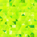 Green vector abstract triangles seamless pattern this is file of eps format Stock Photos