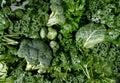 Zelený zelenina