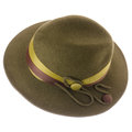 Green vintage hat Stock Photo