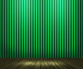 Green Vintage Room Background Stock Images