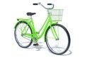 Green Vintage Style Bicycle