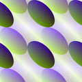Green-violet oval seamless abstract background. Royalty Free Stock Photo
