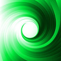 Green vortex Stock Photos