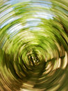 Green vortex abstract whirlpool background with energy and movement Royalty Free Stock Photos