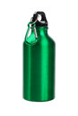 Green water container metal on white background Royalty Free Stock Images