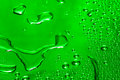 Green water drop Stock Photography