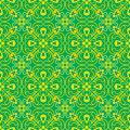 Green wave curve pattern korean traditional pattern is a patter design series Stock Photography