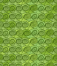 Green waves seamless background Royalty Free Stock Photography