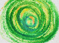 Green whirlpool textures and backgrounds Stock Image