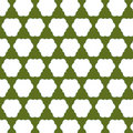 Green and White Abstract Pattern Royalty Free Stock Images