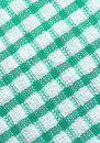 Green and white checkered pattern texture Royalty Free Stock Image