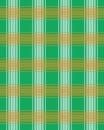 Green, White and Orange Plaid Background - Irish Colors Royalty Free Stock Photo