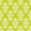 Zelený a bílý bezešvý vektor tapeta na plochu