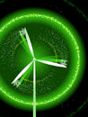Green wind power Royalty Free Stock Images