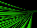 Green wires Royalty Free Stock Images