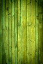 Green wood background close up view of old wall colored in Stock Image