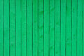 Green Wooden planks Royalty Free Stock Photo