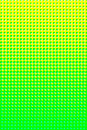 Green yellow halftone Stock Photography
