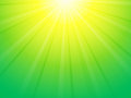 Green yellow ray background Royalty Free Stock Photo