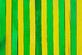 Green and yellow wood background separated to Stock Images