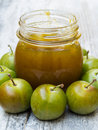 Greengage Jam Royalty Free Stock Image