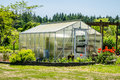 Greenhouse enclosure Royalty Free Stock Photo