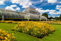 Greenhouse at Kew Gardens in London Royalty Free Stock Photo