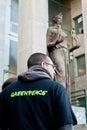 Greenpeace italy Royalty Free Stock Photo