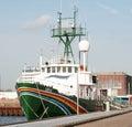 Greenpeace ship Sirius Royalty Free Stock Photo