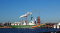 Greenpeace ship sirius in Amsterdam Royalty Free Stock Photo