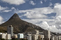Greenpoint and lion s head view of cape town suburb south africa Stock Photo