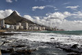 Greenpoint and lion s head view of cape town suburb south africa Royalty Free Stock Photography