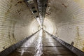Greenwich Foot Tunnel beneath the River Thames Royalty Free Stock Photo