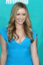 Greer Grammer arriving at the 2012 MTV Movie Awards Royalty Free Stock Image