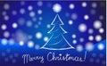 Greeting card for Christmas 2018