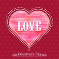 Greeting card design for Happy Valentines Day celebration.