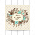 Greeting card design for Mother`s Day
