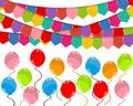 Greeting card happy birthday Royalty Free Stock Photo