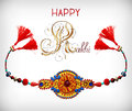 Greeting card for indian festive sisters and