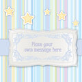 Greeting card for kid bithday or party Royalty Free Stock Images