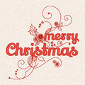 Greeting card merry christmas about Royalty Free Stock Images