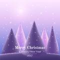 Greeting card Merry Christmas