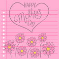 Greeting Card Of Mother Day Wi...