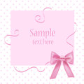 Greeting card with place for your text vector Stock Photo