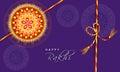 Greeting card for Raksha Bandhan celebration.