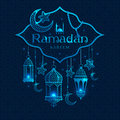 Greeting Card Ramadan Kareem