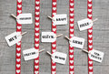 Greeting card with red hearts for valentines day or birthday wit Royalty Free Stock Photo